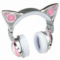 日本でも流行しているネコ耳ヘッドフォンの最新版が登場 ネコ耳とスピーカーとヘッドフォンの3つが合体したAXENT WEARは音楽を聴くだけだなく近くにいる人とネコ耳型のスピーカーで音を共有することができるヘッドホンです 最新版はBluetooth対応でワイヤレスとなりiPhoneにも対応しています