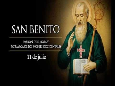 Santoral 11 de Julio, San Benito Abad