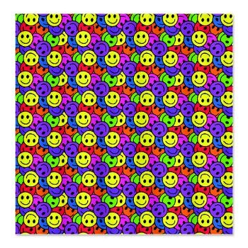 Hippy Gift Shop Funky Hippie Gifts: Rainbow Smiley Face Pattern Shower  Curtain: Retro Rainbow Colored Smiley Face Pattern In All The Colors Of The  Rainbow.