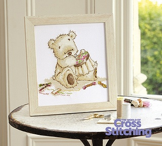 Lickle Ted Lickle Stitcher  The World of Cross Stitching  Issue 199 February 2013 Hardcopy in Folder
