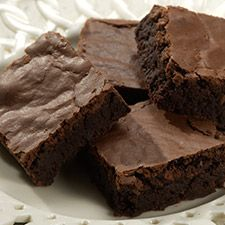 """King Arthur gluten-free brownies  These were quite good! A bit of an off (rice) taste at the first bite but then just chocolate flavor. Made them dairy free also with vegan """"butter"""".  (used the Bob's Red Mill gf flour blend)"""