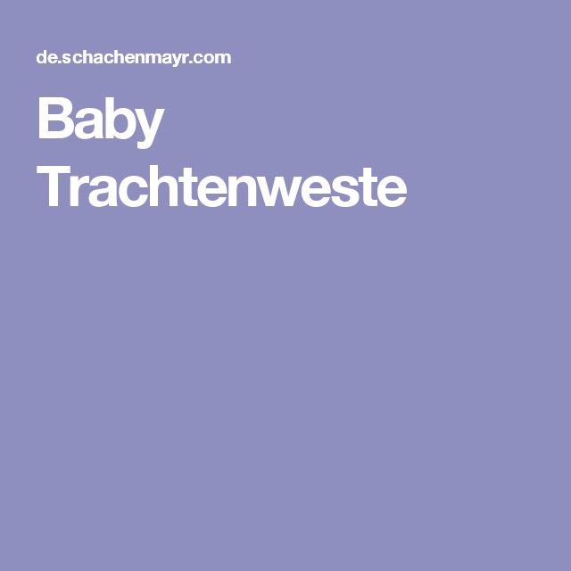 Baby Trachtenweste
