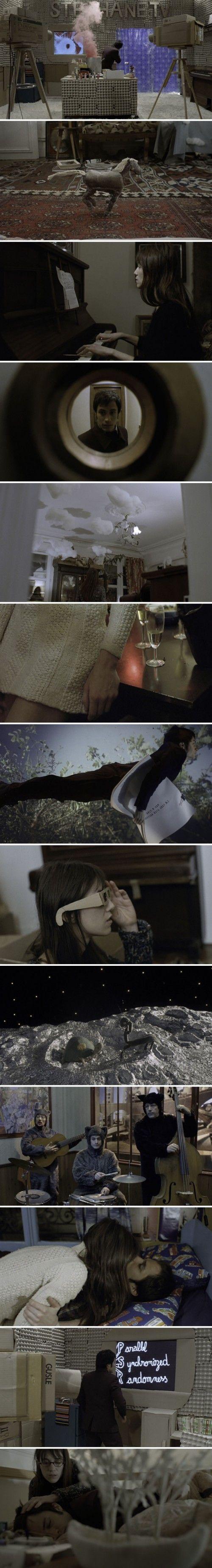 The Science of Sleep.  Michael Gondry.  <3 FILM PREFERITO IN ASSOLUTO