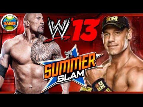 The Rock vs John Cena WWE 13