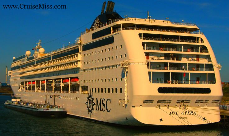 #Docked before business - #MSCOpera  #CruiseMiss