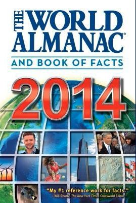 """Book Review: """"World Almanac and Book of Facts 2014″ (& Giveaway Ends 1/17)"""