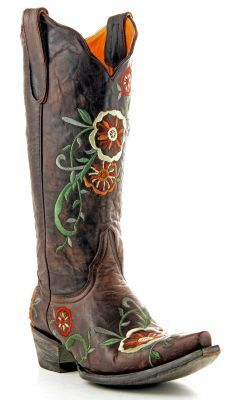 Womens Old Gringo Tyler Boots Vesuvio Chocolate