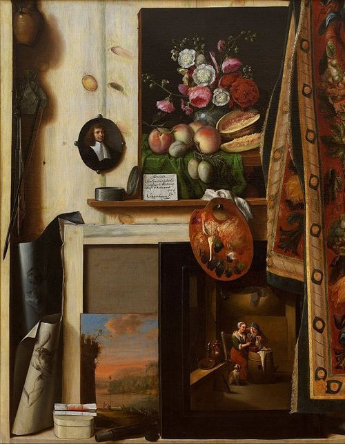 101 best images about trompe l 39 oeil on pinterest old master auction and museums. Black Bedroom Furniture Sets. Home Design Ideas