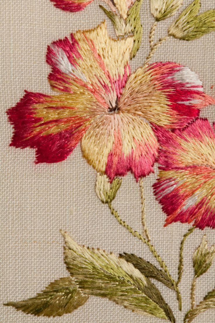 Meissen Gillyflower detail