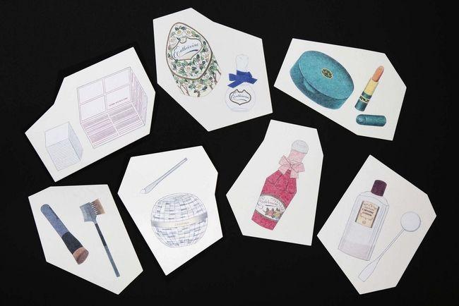 Phillipe WEISBECKER | SHISEIDO THE GINZA×花椿 Vol.1 「フィリップ ワイズベッカーが描いた化粧品たち」特別ディスプレー 展示期間2015年1月15日(木)~3月17日(火)|株式会社資生堂のプレスリリース