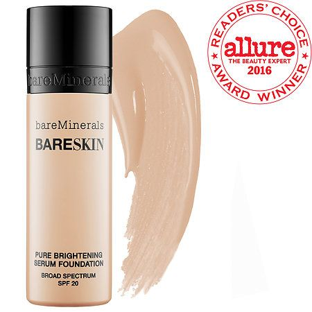 bareSkin Pure Brightening Serum Foundation SPF 20 - bareMinerals | Sephora