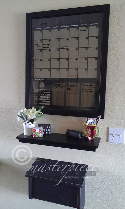 LARGE Dry-Erase Calendar Memo Menu Note by masterpiecememos