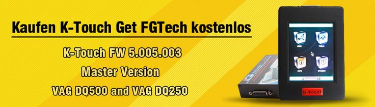 Buy New Genius K-Touch GET FGTech for Free  Check more details on www.autoobd2.de