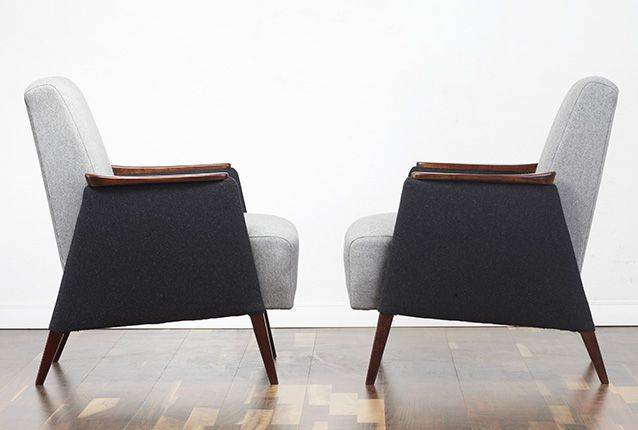 Cocktail chairs, vintage, retro & modern armchairs  www.viremo.co.uk