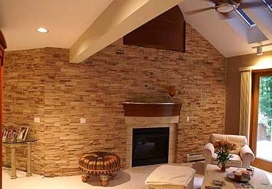 Stone Veneer For Interior Wall Cladding Home Pinterest Cathedrals Interiors And Interior