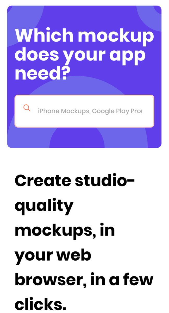 Previewed Free Mockup Generator For Your App Free Mockup Generator Iphone Mockup App