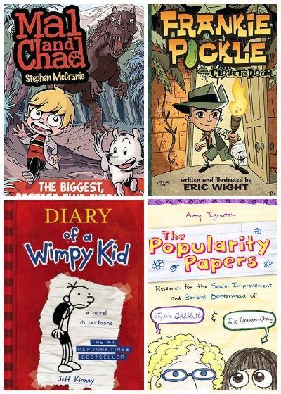 elementary graphic novels B