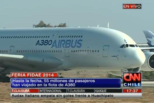 A380 en la loza 23/03/2014