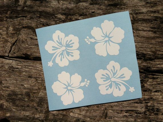 Add some aloha to your phone, laptop, car, mirror, helmet, stand mixer, or any flat surface with our Mini Hibiscus stickers. Great for