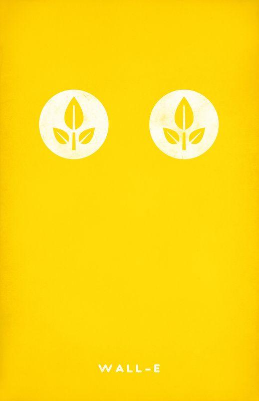 #PIXAR #Minimal_Design_Poster #WALL_E #ウォーリー #ピクサー #ミニマルデザイン_ポスター
