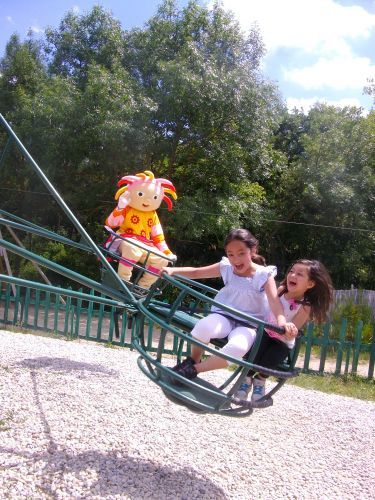Het kinderdorp - Activiteit in Montagnac