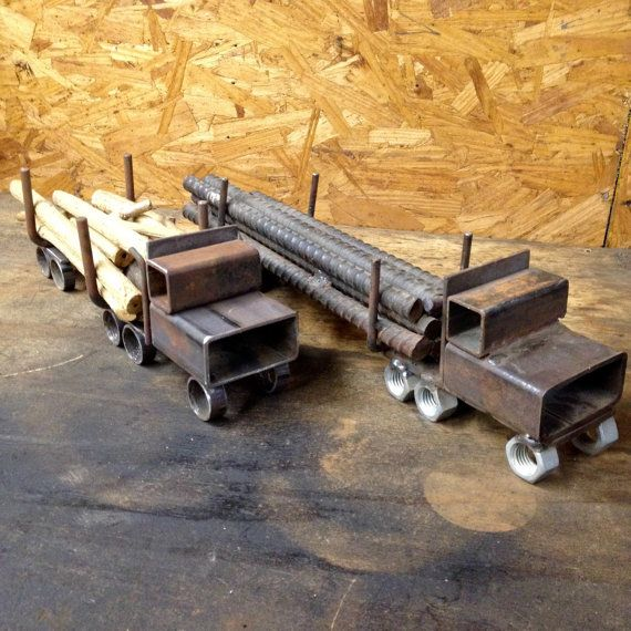 This Log Truck is a great gift for the current or retired logger/lumberjack.