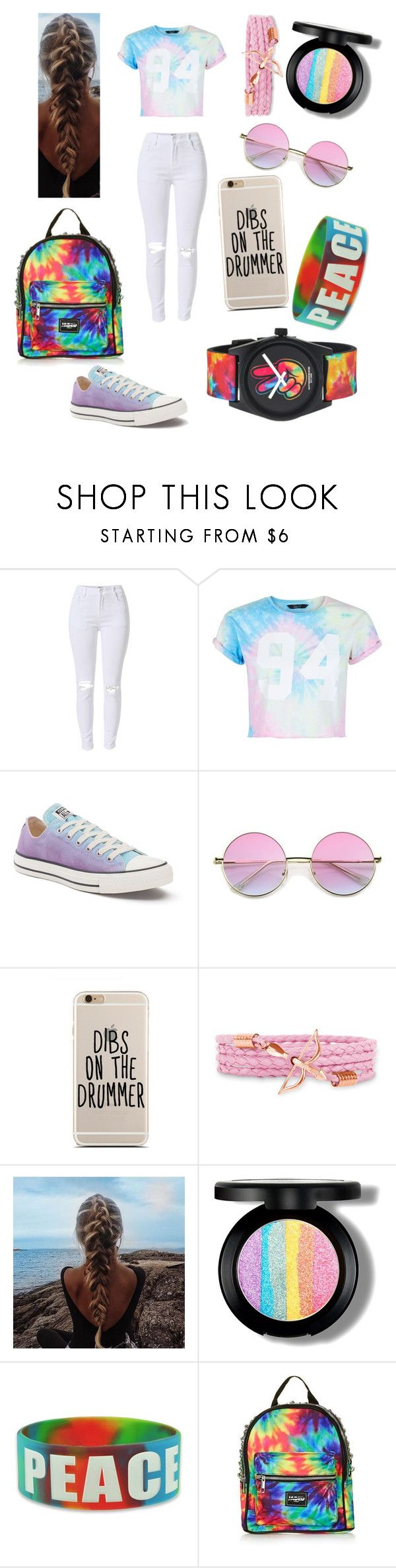 """""""Ashton Irwin 5sos concert outfit"""" by that-fangirl ❤ liked on Polyvore featuring New Look, Converse, Topshop and Neff"""