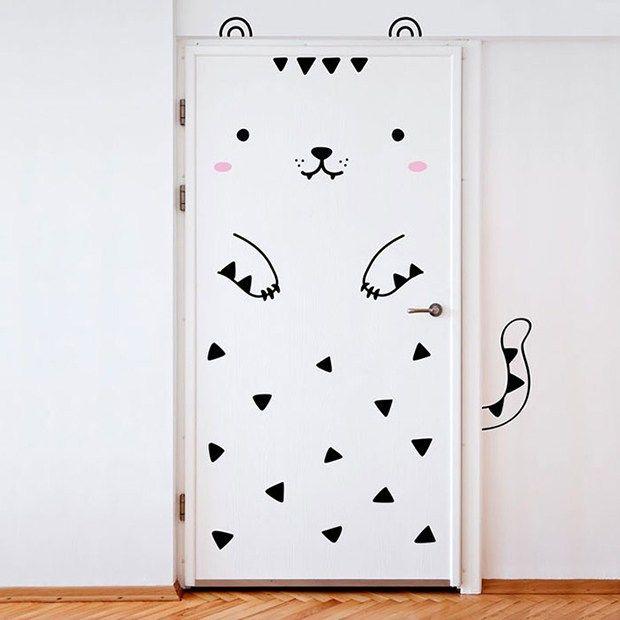 made of sundays adesivos decorar portas