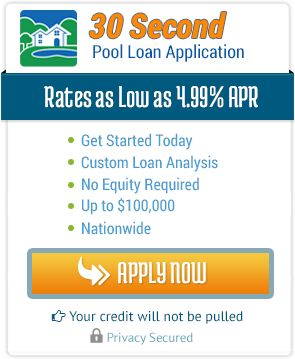 Swimming Pool Financing| Call Now - 800-783-6541 | #MyPoolLoan.com