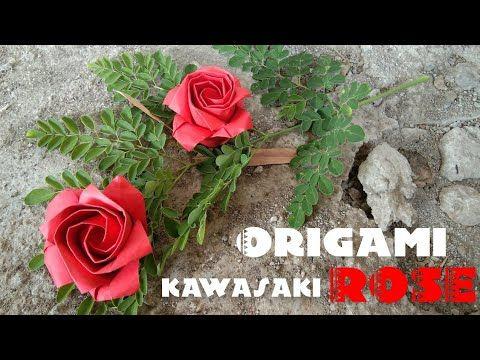 Cara Membuat Origami Bunga Mawar - [DOCX Document] | 360x480