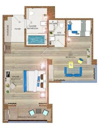 Image Result For Pool Suite Hotel Floor Plans