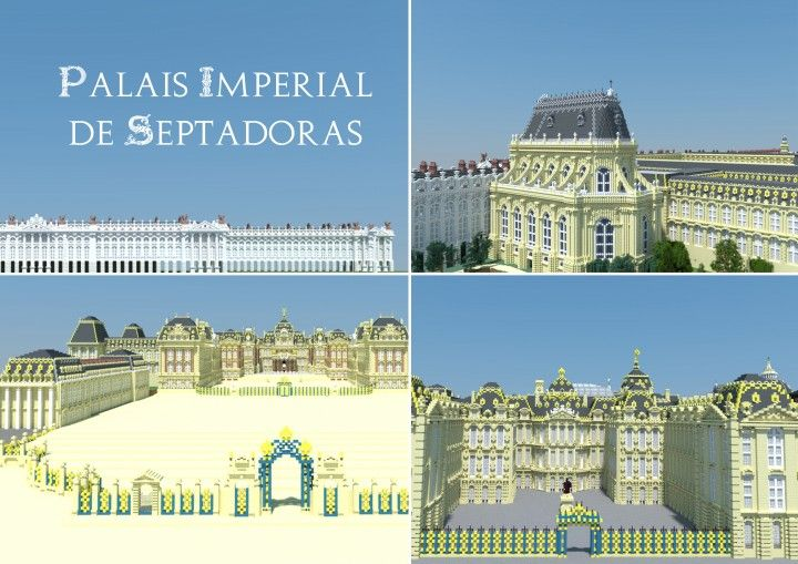 Palais Imperial De Septadoras Minecraft Project Minecraft Architecture Minecraft Skyscraper Architecture