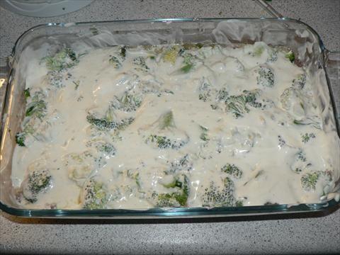 LCHF-Recept: Köttfärs med broccoli
