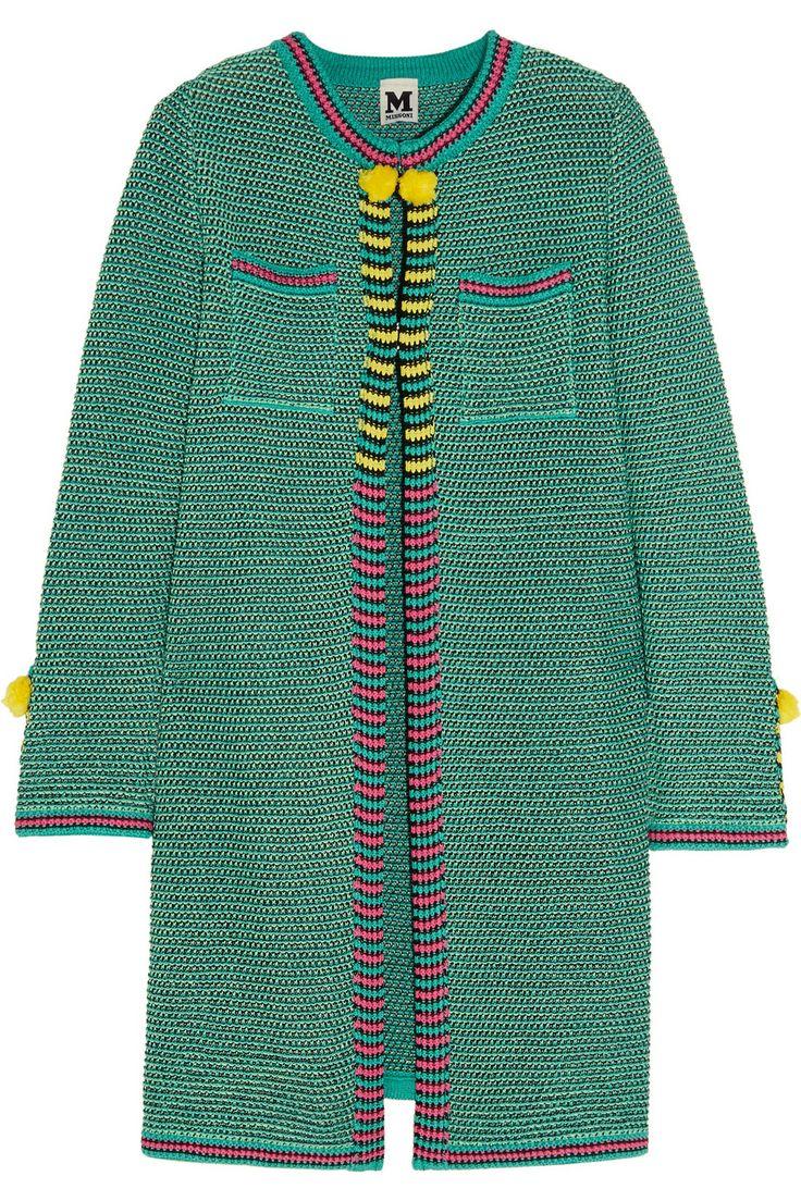 M Missoni | Crochet-knit cotton coat | NET-A-PORTER.COM