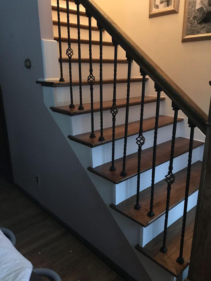 Best 15 Best Custom Stair Treads Images On Pinterest Oak 640 x 480