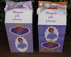 Caixinha de leite (milk) Princesa sofia