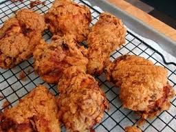 Buttermilk Oven Fried Chicken-A Gutsy Gourmet Printed Recipe