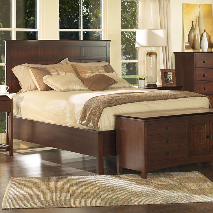 Enchantment Panel Bed By Somerton Wood Beds Wood Bed