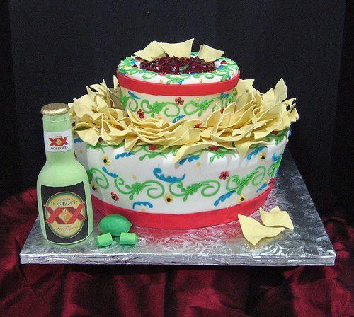 Bolos decorados fiesta - http://www.boloaniversario.com/bolos-decorados-fiesta/