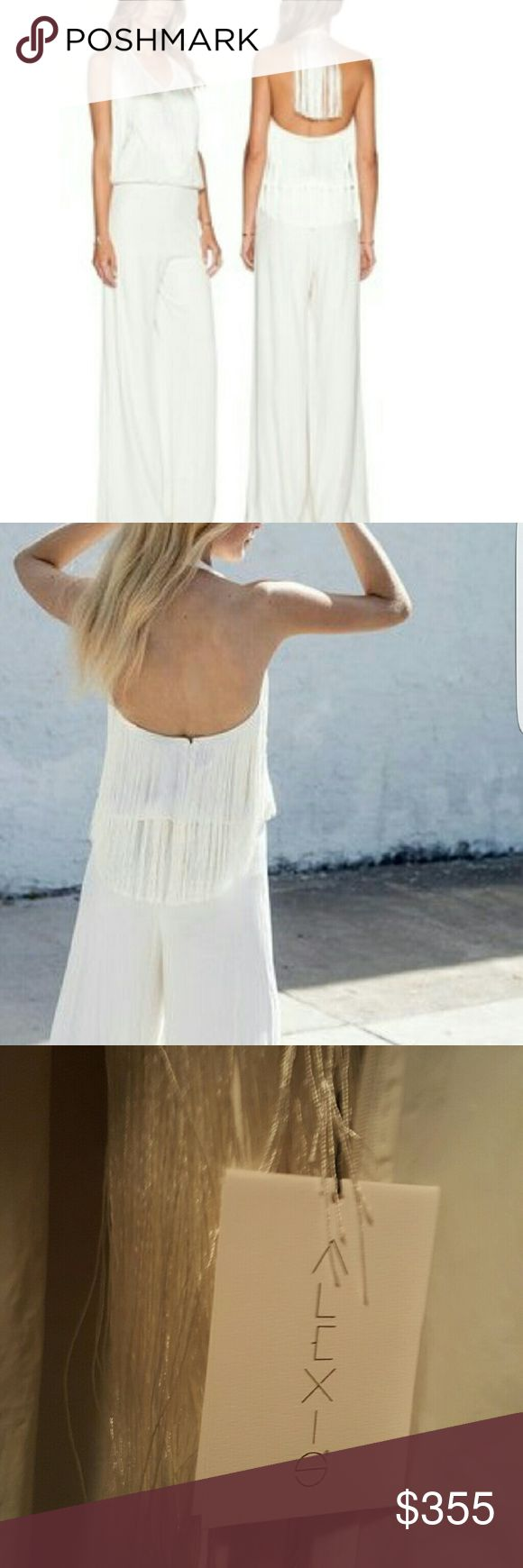 Alexis Isis Jumpsuit white New w/tags sold at Nieman Marcus for $655 Alexis Dresses Backless