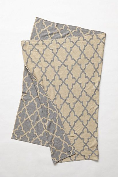 Moroccan Trace Throw - anthropologie.com