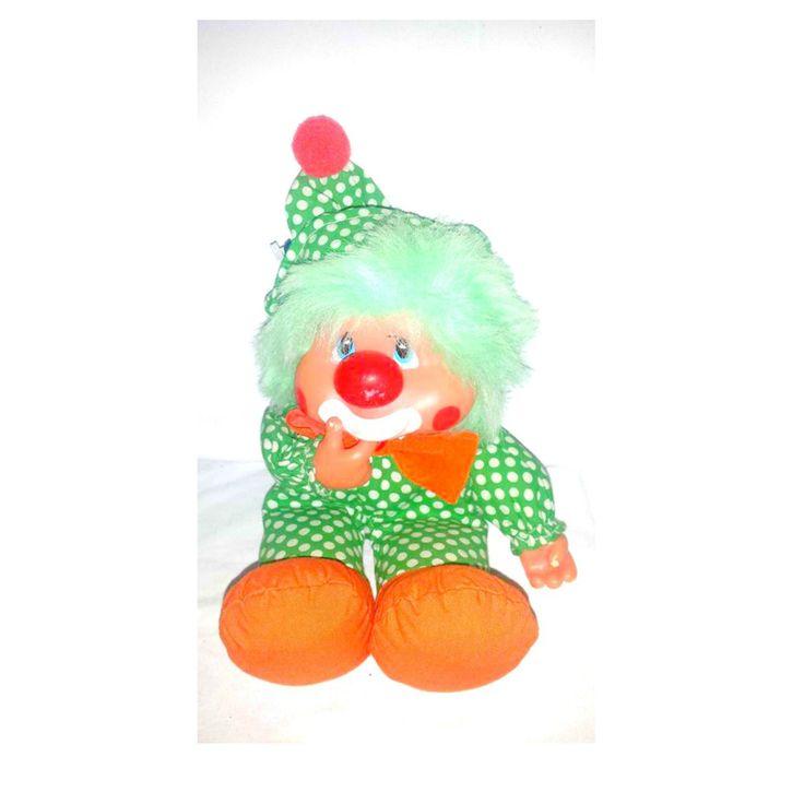 Vintage Zippy the Clown Doll, Applause Clown,Thumb Sucker, Clown Plushie,Rubber Face Clown,Clown Plushie, Creepy Cute, Kitsch,Clown by JunkYardBlonde on Etsy #zippytheclown #zippy&friends #rubberface #rubberfaceclown #rubberfaceplush #applause #vintageplush #vintageclown #creepycute #vintagedolls #vintagetoys