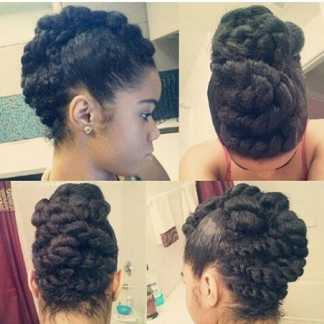 Admirable 1000 Images About Natural Hair Styles On Pinterest Protective Short Hairstyles Gunalazisus