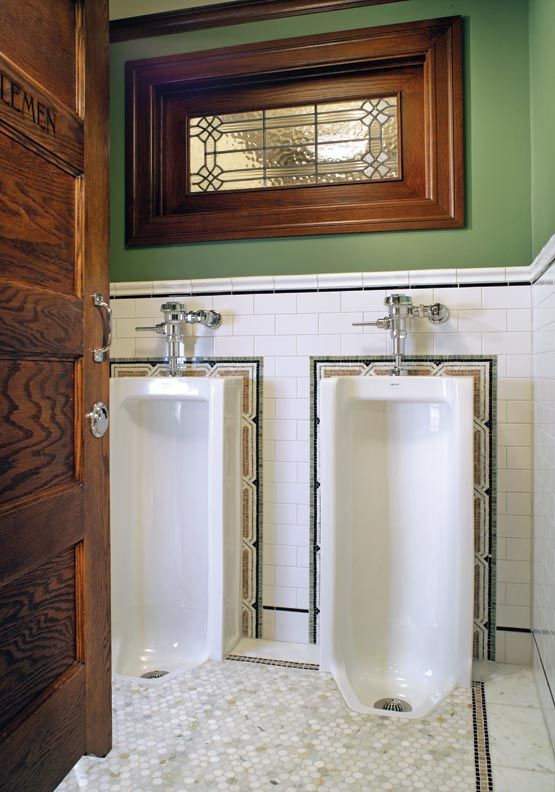 Ideas from an Irish Pub Bathroom - Old-House Online - Old-House Online