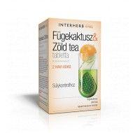 FÜGEKAKTUSZ & ZÖLD TEA tabletta 60 db - SÚLYKONTROLLHOZ