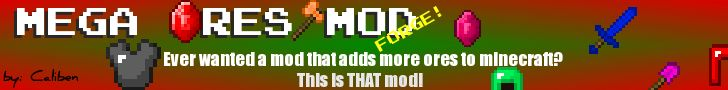 Minecraft mods download Mega Ores 1.6.2