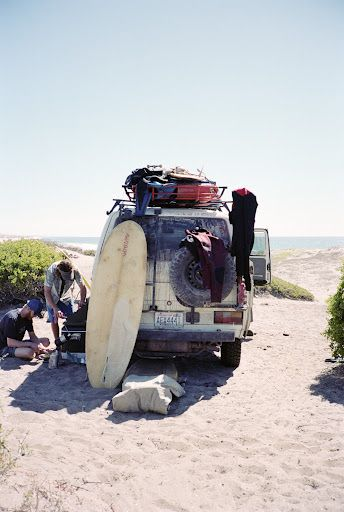 Foster Huntington #vanlife. The 02/64 is simple and utilitarian while giving homage to the early surf adventurers and is channeled in @SeaVees Authentic California Authentic California Authentic California 02/64 Baja Slip On www.seavees.com