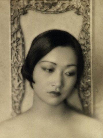 anna may wong (1926), e. o. hoppé - the first chinese american movie star