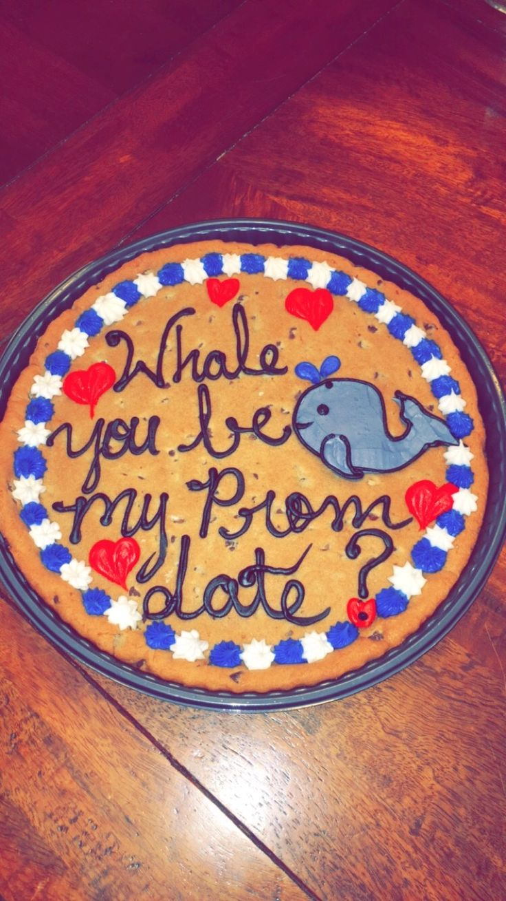 Whale You Be My Prom Date?
