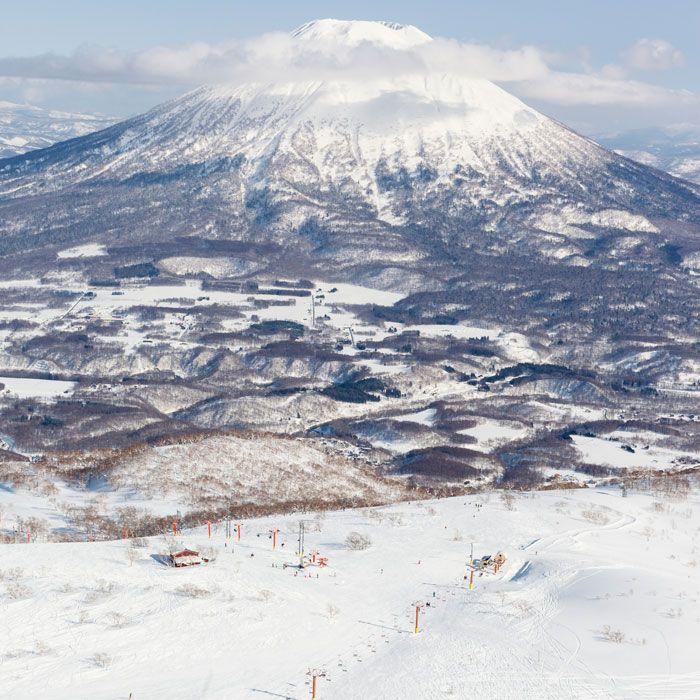 The Back Bowls of Mt. Annupuri, Niseko, Japan
